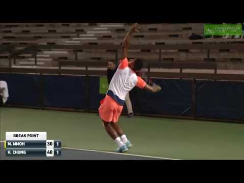 Michael Mmoh (USA) vs Hyeon Chung (KOR)