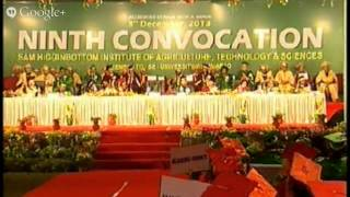SHIATS 9th Convocation 03-12-2013