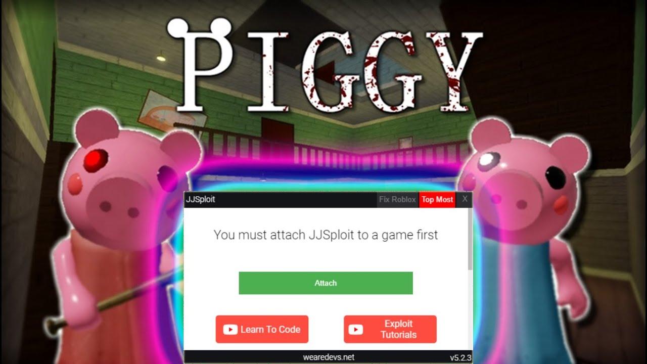 Roblox Hack Piggy Tp Speed And More Jjsploit Pastebin Youtube