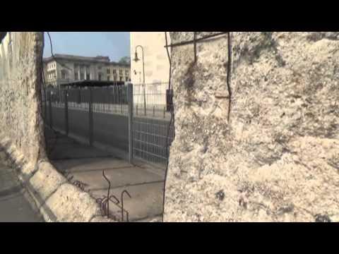 Berlin Wall remnants and pop art