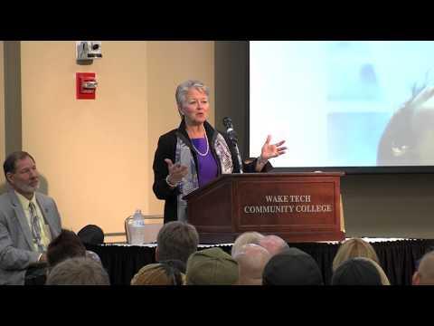 """The Future of Jobs in North Carolina"": Secretary of Commerce, Sharon Decker at Wake Tech"
