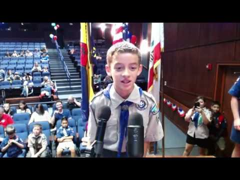 Space Station Crew Member Discusses Life in Space with California Scouts