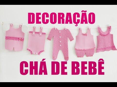 DIY: DECORAÇÃO P/ CHÁ DE BEBÊ