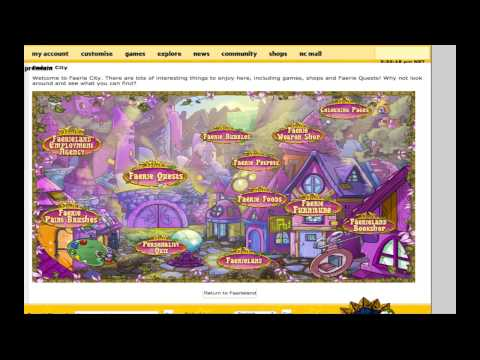 My Neopets VLOG: My First Fountain Faerie Quest