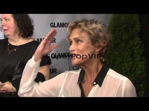 : Lauren Hutton on how excited she is to be arou...