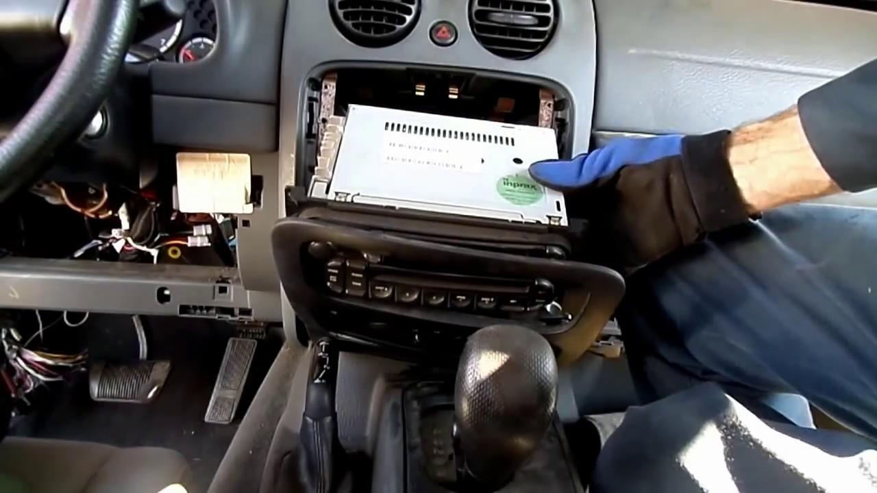 2007 Jeep Wrangler Fuse Box Location Jeep Liberty Radio Removal Youtube