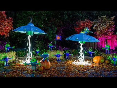 DIY Flying Saucer and Allen Pumpkins - Home & Family