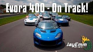 Lotus Evora 400: On Track At Last!
