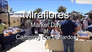 Miraflores at Los Gallardos Camping - Market Day - 2018 03 27