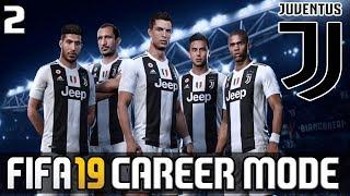 FIFA 19 JUVENTUS MINI CAREER MODE #2 | RONALDO & DYBALA DEADLY STRIKE FORCE DUO!! (FIFA 19 Demo)