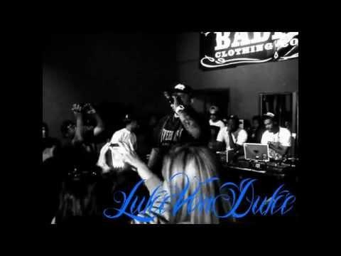 LukeVonDuke Live @ Badfish Clothing Shop In San Pedro Cali.