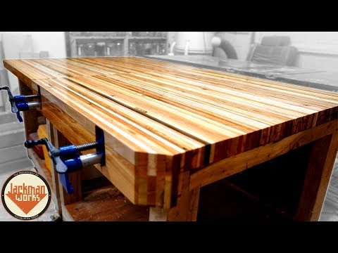 100% Pallet Wood Woodworking Workbenches