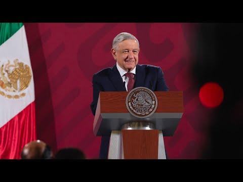 Programa de Mejoramiento Urbano llegará a Estado de México. Conferencia presidente AMLO