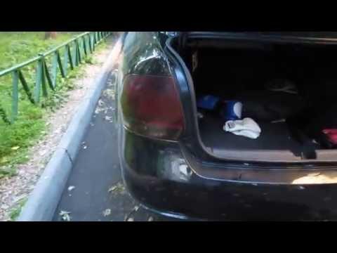 Как снять задний стоп и замена ламп на Поло седан 2013г