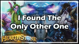 [Hearthstone] I Found The Only Other One