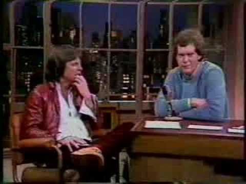 Terry Gilliam on Letterman, 1982