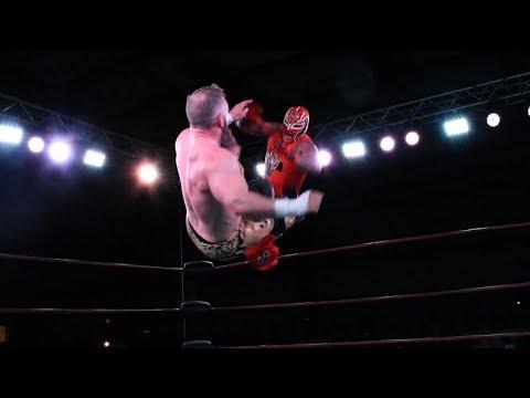 Rey Mysterio vs Matt Cross vs Xtreme Tiger vs Último Ninja, en Martínez Entertainment/CTLL