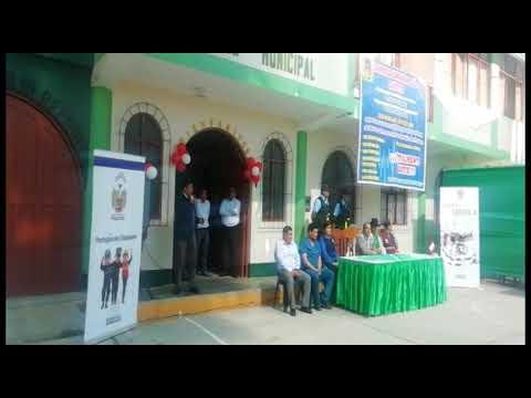 Alcalde De Huaraz / Rori Mautino Realizó Campaña Médica En Cochabamba
