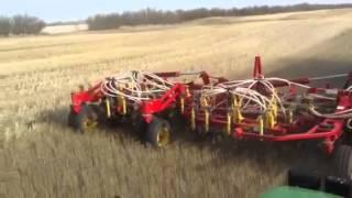 Spring seeding In Canada