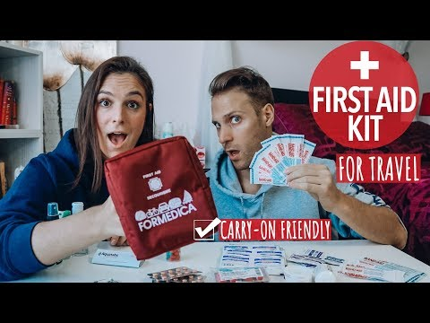 TRAVEL FIRST AID KIT | What To Pack & Travel Tips