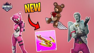*NEW* FORTNITE SKINS VALENTINES UPDATE (patch notes and new items)