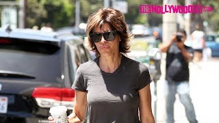 Lisa Rinna Is Asked About Her Daughters Amelia & Delilah Taking Over Gigi & Bella Hadid's Spotlight