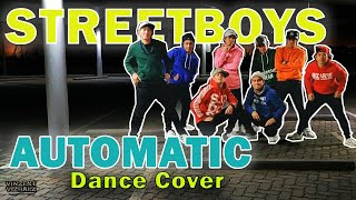 Gambar cover #streetboys #90sdancers  STREETBOYS DANCE AUTOMATIC (Utada Hikaru) | UNDECIDED