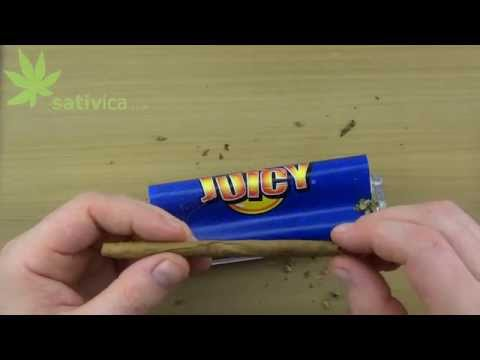 Roll a Cigarillo in a Rolling Machine