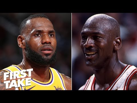 LeBron James would not be this great if he played against Michael Jordan - Stephen A. | First Take