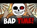 АНДЕРТЕЙЛ 3D БИТВА С САНСОМ И ГАСТЕРОМ UNDERTALE BAD TIME mp3