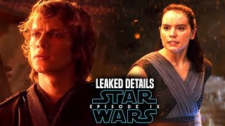 Star Wars Episode 9 Rey Linked To Anakin! Leaked Details & More! (Star Wars News)