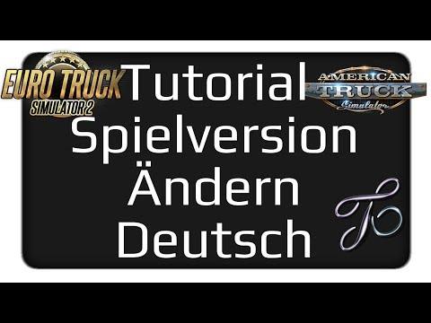 Tutorial Spielversion im Steam ändern Deutsch | Version ändern im 🚚 ETS2 u. 🚛 ATS