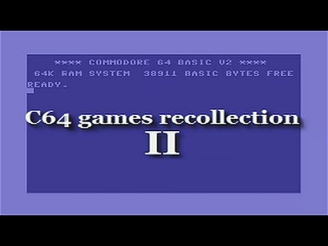 C64 games recollection II