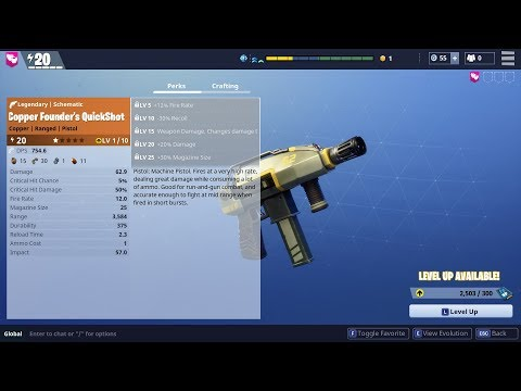 quickshot-legendary-review-and-gameplay!- -fortnite