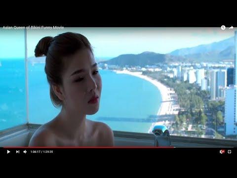 Asian Queen of Bikini   Funny Movie