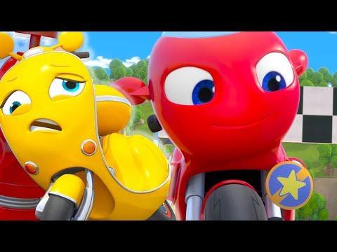 Ricky Zoom Español Latino | Pinchadura Sorprendente | ¡Ricky Zoom, Míralo En Discovery Kids!