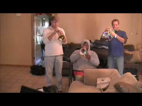 The Incredibles screaming trumpets