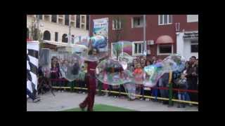 "Doctor Bubble Street Show- ""Play for All"", Kosovo 2013"