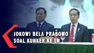 Jokowi Bela Menhan Prabowo yang Sering ke Luar Negeri