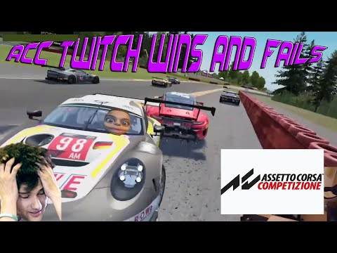 ACC twitch wins and fails #1  
