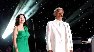 Andrea Bocelli and Ana Maria Martinez - TIME TO SAY GOODBYE - LIVE in Central Park, NY 2011