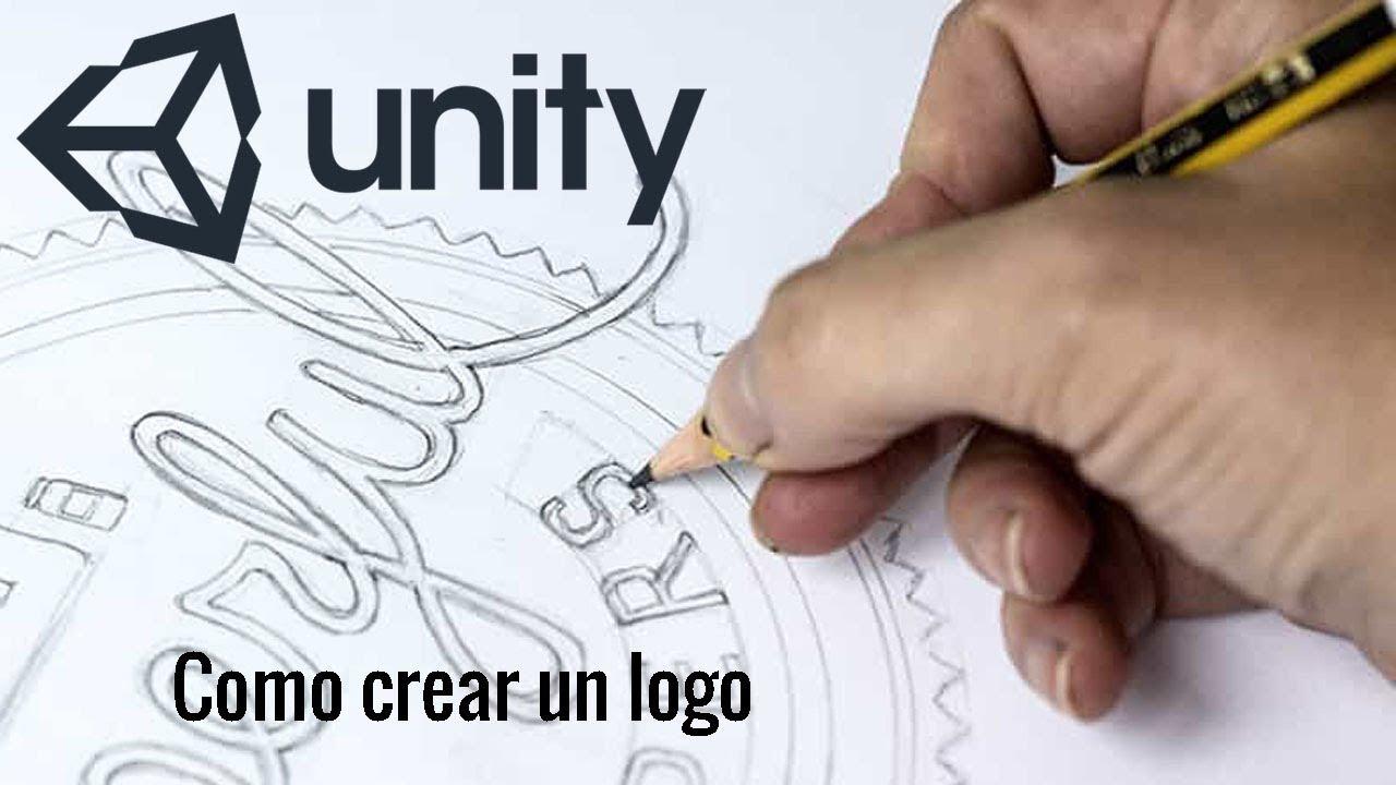 Unity 3d Como Crear Un Logo Para Videojuegos Youtube