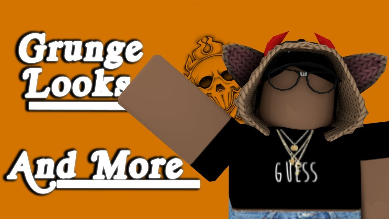 Roblox Outfit Ideas Lookbook Grunge Edition - Roblox Lookbook Grunge Looks By Glowly