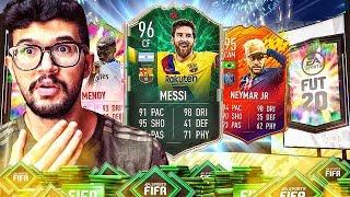 تفجير بكجات الترقية + اقوى بكجات ترقية والحظ اسطططوري | FIFA 20