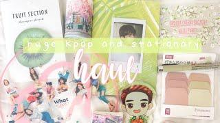 🍉 Kpop & Stationery Haul