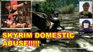Violence Against Women In Skyrim - Action Figure Therapy