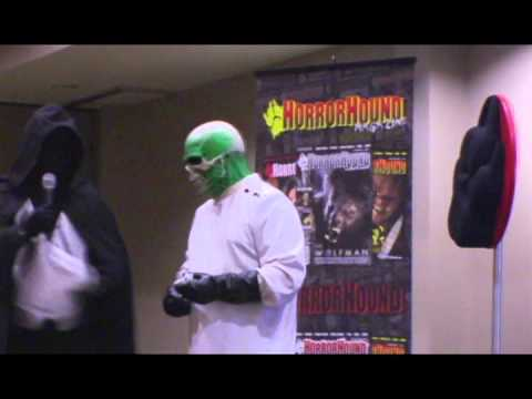 2014 horror host hall of fame induction the ghoul youtube
