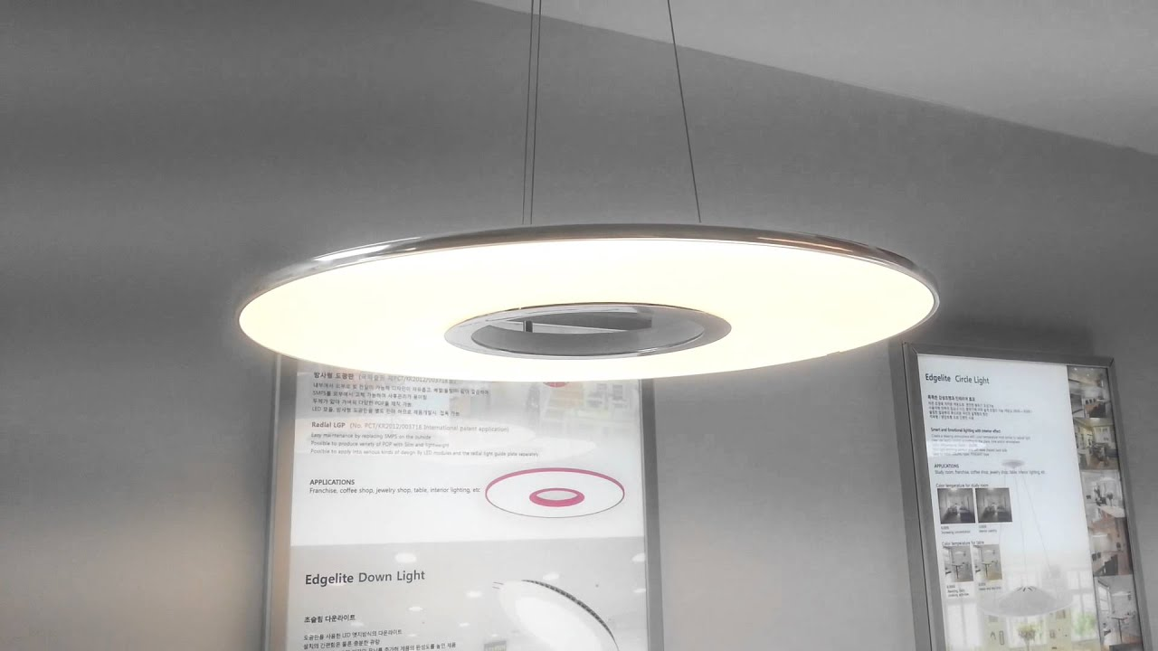 Brand New Donut Chrome 20w Led Round Pendant Light Fixture