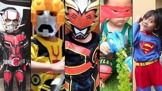 Drama Superhero Ant Man, Superman, Bumble Bee, Ksatria Garuda, dan Kura-Kura Ninja Beraksi !