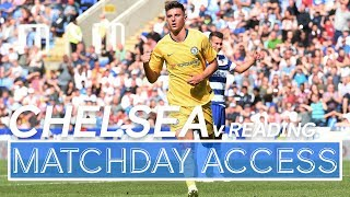🎥Matchday Access | Chelsea v Reading: Mount & Barkley on 🔥